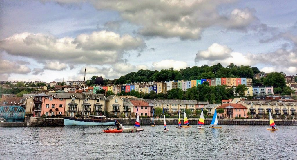 Bristol Harbourside. Read this article to discover the top 10 things to see in Bristol, England, where to eat in Bristol, and where to stay in Bristol. #bristol #england #uk #bristoltraveling #travelbuide #bristolguide