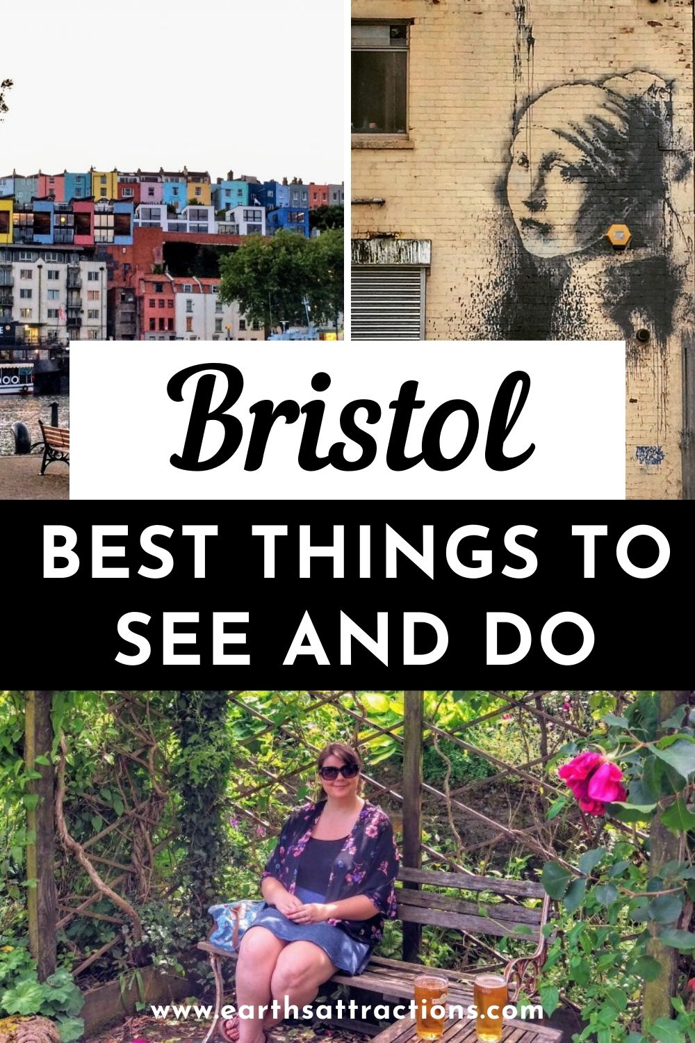The best things to do in Bristol, UK. Use this insider's guide to Bristol, England to plan your Bristol holiday. Create your Bristol bucketlist - make sure you include Bansky's art, the Cabot Tower, Clifton Suspension Bridge and all the other great attractions in Bristol on your itinerary. #bristol #uk #england #bansky #traveldestinations #earthsattractions