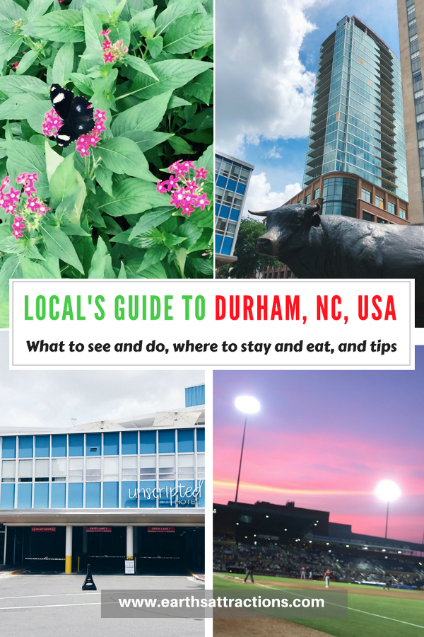 Planning a trip to Durham, NC, USA? Here's your guide to Durham with useful tips for Durham, the top things to do in Durham, off the beaten path things to see in Durham, where to eat in Durham, where to stay in Durham, and Durham tips from an insider in this local's guide to Durham, North Carolina. Save this pin to your board for travel inspiration! #Durham #Durhamtravel #Durhamusa #durhamtips #durhamguide #durhamtravelguide #Durham #Durhamtravel #Durhamusa #durhamtips #durhamguide #durhamtravelguide