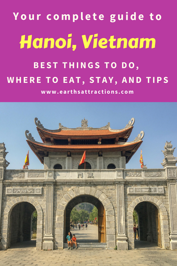 Heading to Hanoi, Vietnam? Here's your guide to Hanoi, Vietnam that includes the best things to do in Hanoi by an insider. This complete Hanoi travel guide includes the attractions in Ha Noi, Hanoi accommodation, Hanoi food, what to do in Hanoi, and tips for Hanoi #hanoi #vietnam #hanoitravel #hanoitips #hanoitraveling #hanoiguide #asiatravel #hanoifood #hanoiattractions #earthsattractions
