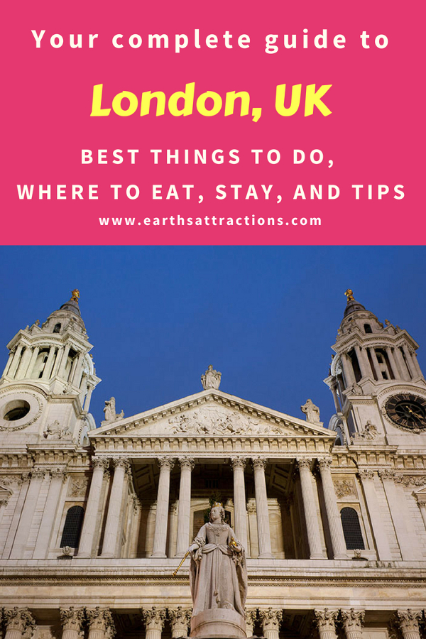 Heading to London, England? Use this complete travel guide to London when planning your trip. Read the article to discover the best things to do in London, off the beaten path attractions in London, London food, London accommodation, and London tips. Save this pin to your boards. #London #Londontravel #Londonuktravel #Londontips #Londonguide #Londontravelguide #Londontravel #Londonuk #Londontips #Londonguide #Londontravelguide