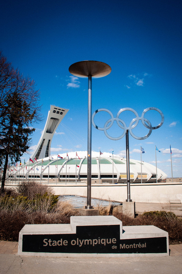 The Olympic Stadium in Montreal, Canada. Discover in this insider's guide to Montreal the best things to do in Montreal, off the beaten path things to do in montreal, food in Montreal, accommodation in Montreal, tips for Montreal from a local. #montreal #montrealtravel #montrealguide #canada #america #northamerica #travelguide