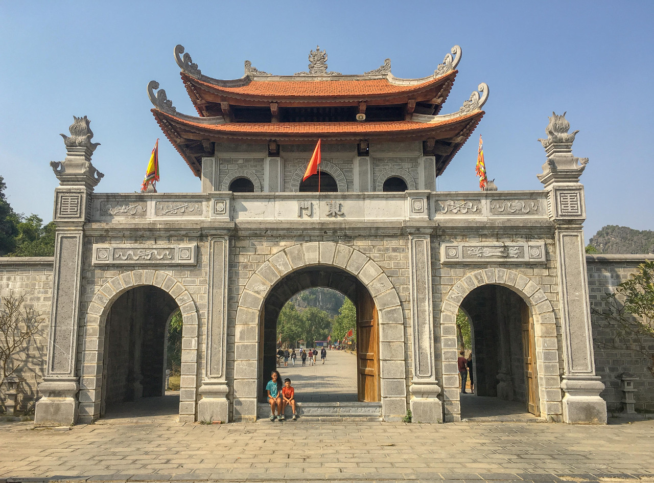 Nam Citadel - Hanoi, Vietnam. Read more to discover the top attractions in Hanoi Vietnam, off the beaten path things to see in Hanoi, Hanoi food, Hanoi accommodation, and tips for Hanoi from an insider. #hanoi #vietnam #hanoitravel #hanoitips #hanoitraveling #hanoiguide #asiatravel #hanoifood #hanoiattractions