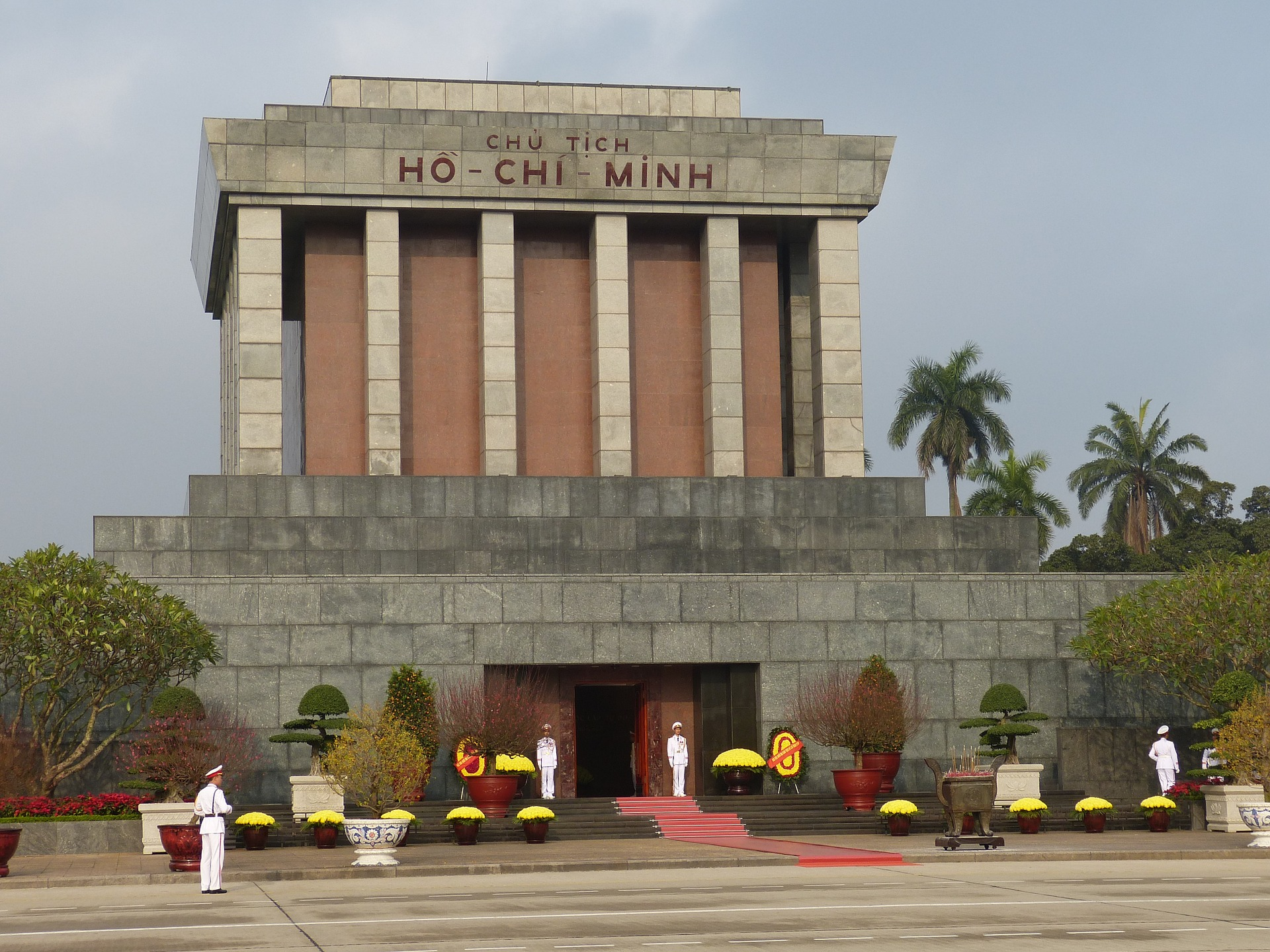 Ho Chi Minh's Mausoleum, Hanoi, Vietnam. Read this article and use it as your guide to Hà Nôi, Vietnam by an insider as it includes the best things to do in Hanoi, Vietnam, where to eat in Hanoi, where to stay in Hanoi, and Hanoi tips. #hanoi #vietnam #hanoitravel #hanoitips #hanoitraveling #hanoiguide #asiatravel #hanoifood #hanoiattractions