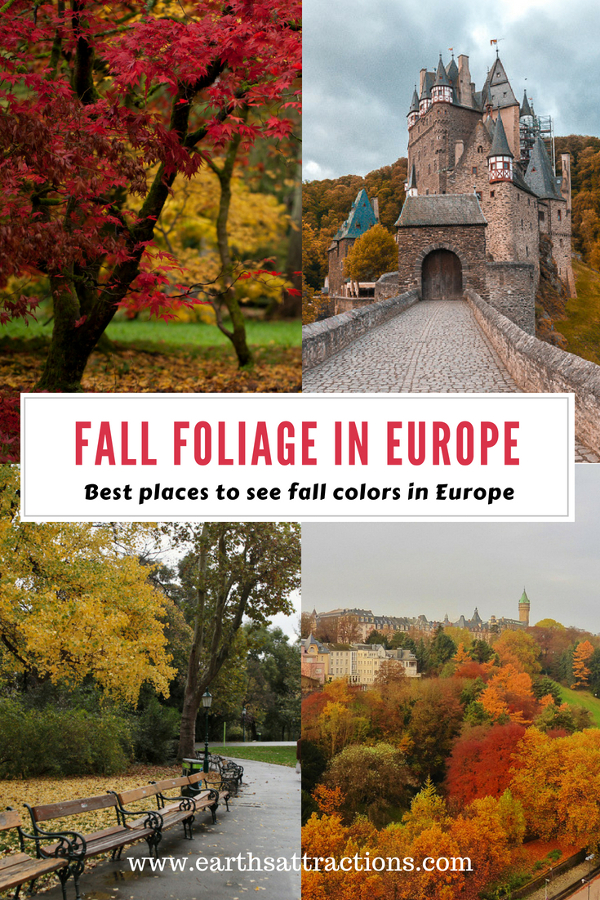 Read the article to see the best places to visit in Europe in autumn: where to see the most beautiful fall colors in Europe. You'll be enchanted by fall foliage everywhere! #Europe #fall #fallfoliage #foliage #europefoliage #fallcolors #fallcolours #colours #autumn #autumncolors #autumncolours