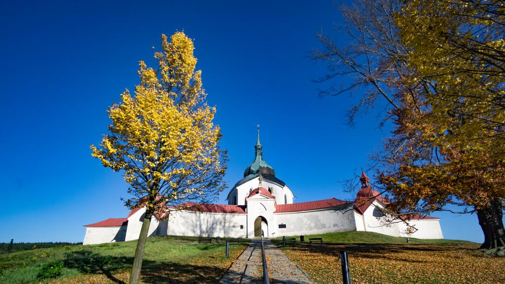 Vysočina Region, Czech Republic is one of the best places to visit in Europe in autumn if you want to admire the stunning fall foliage in Europe. Read this article to see Europe's best places for fall travel. #Europe #fall #fallfoliage #foliage #europefoliage #fallcolors #fallcolours #colours#autumn #czechrepublic