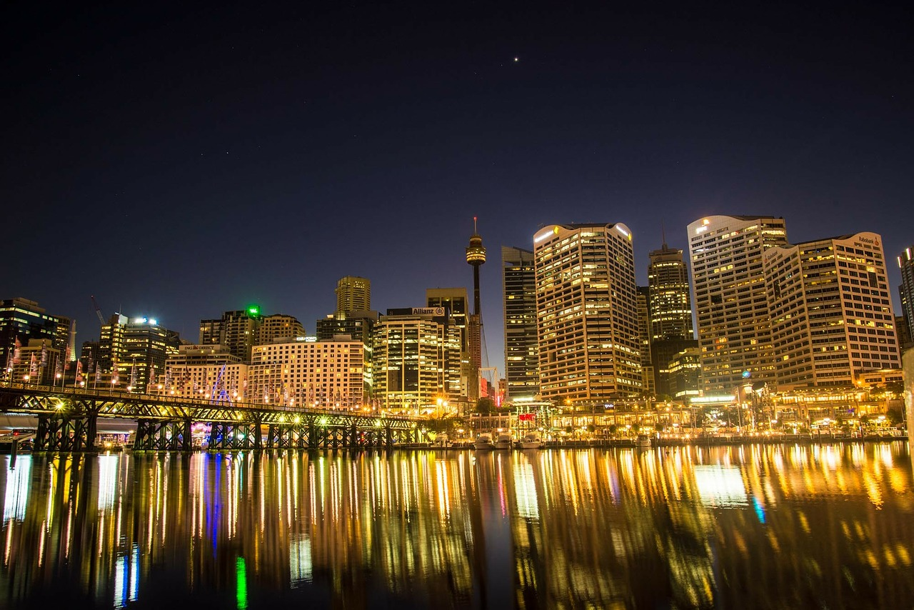 Darling Harbour & Pyrmont, Sydney, Australia. Read this guide to Sydney, Australia and discover the top attractions in Sydney, off the beaten path attractions in Sydney, and tips for Sydney. #Sydney #Australia #Sydneytravel #travelguide #tourist #attractions #travel #Sydneyguide #Sydneytravelguide