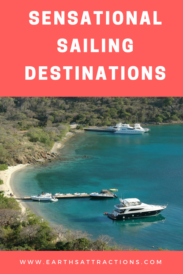 Do you want to go sailing? Discover the best sailing destinations in the world. Places from different countries and continents included ;) Sensational Sailing Destinations. #sailing #sailingdestinations #saildestinations #gosailing