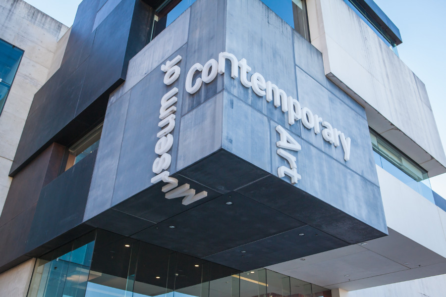 Museum of Contemporary Art in Sydney, Australia. Use this complete local's guide to Sydney, Australia and discover the top things to see in Sydney, best off the beaten path places to visit in Sydney, and tips for Sydney. #Sydney #Australia #Sydneytravel #travelguide #tourist #attractions #travel #Sydneyguide #Sydneytravelguide
