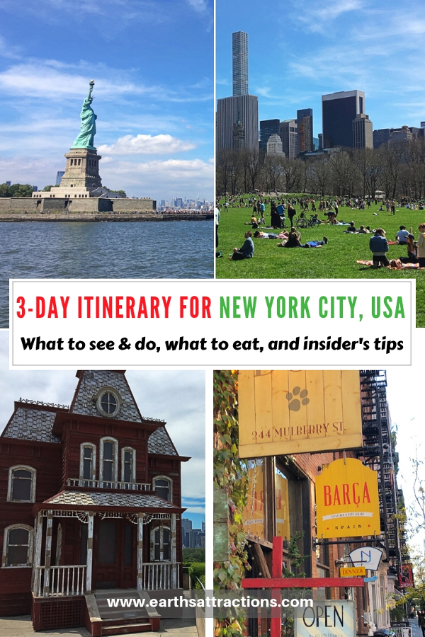 Heading to New York City, USA? Check out this NYC 3-day itinerary by a local and discover the best things to do in NYC in three days, insider's tips for New York City, and where to eat in New York City. #nyc #usa #newyorkcity #nycguide #nycitinerary #nyctraveling #usatraveling #travelguide