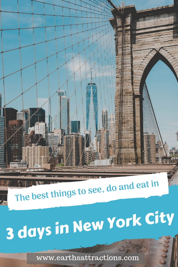 Planning a trip to New York City, USA? Here's your perfect NYC 3-day itinerary by a local - it includes the best things to do in New York City in three days. #nyc #usa #newyorkcity #nycguide #nycitinerary #nyctraveling #usatraveling #travelguide
