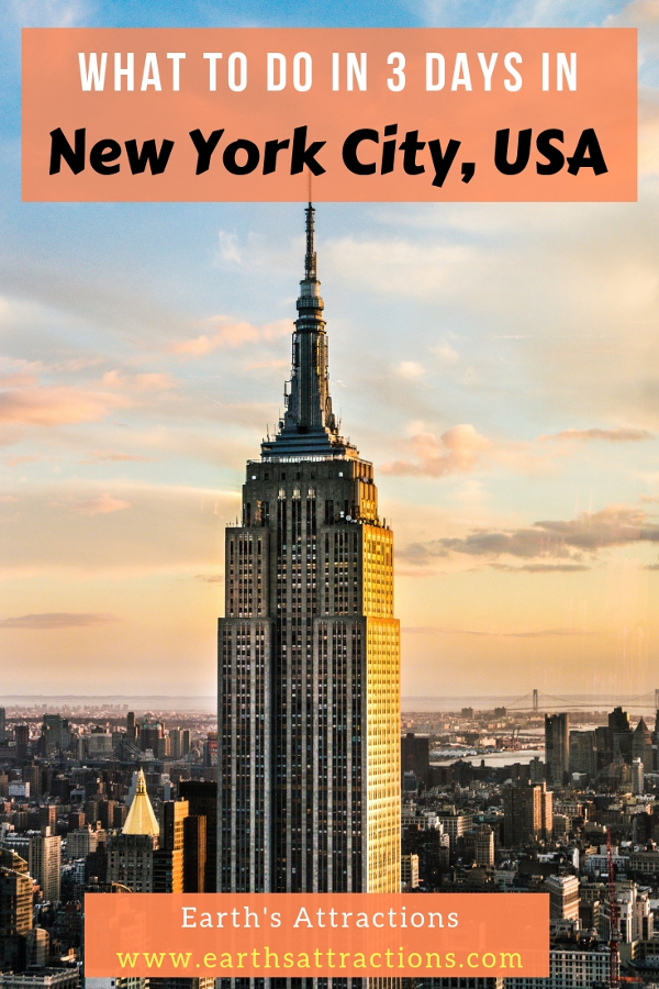 Wondering what to do New York City in three days? Use this 3-day itinerary NYC by a local and discover the best attractions in New York City and insider's tips for New York City #usa #nyc