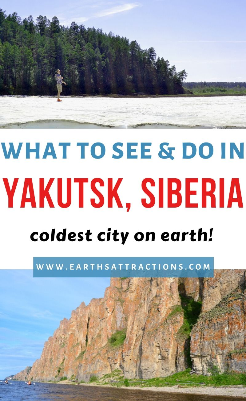 Yakutsk Russia - the coldest city in the world. Discover what to do in Yakutskfrom this local's guide to Yatusk, Siberia. It includes the best things to do in Yatusk, both famous attractions in Yatusk and off the beaten path things to do in Yatusk and great places to visit near Yakutsk. Discover great Yakutsk, learn about the Yakutia culture and language, and find out useful tips for visiting Yakutsk. Plan your ultimate Yakutsk trip with this Yakutsk guide. Create your Yakutsk bucketlist and, ultimately, your Yakutsk itinerary with this article. #Yakutsk #russia #Yakutskrussia #Yakutskthingstodo #travelguide #europe #traveltips