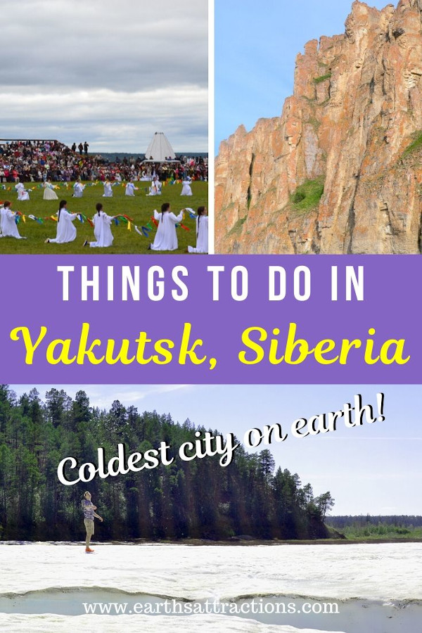 The most amazing things to do in Yakutsk, Siberia, Russia. Use this guide to Yakutsk to plan an unforgettable trip to Yakutsk. You can have a memorable Yakutsk holiday and choose this as it's a lesser known destination and a perfect vacation getaway spot in Russia. Add Yakutsk to your travel bucket list and use this Yakutsk guide to plan a great vacation to Yakutsk, the coldest city on earth. #Yakutsk #russia #Yakutskrussia #Yakutskthingstodo #travelguide #europe #traveltips
