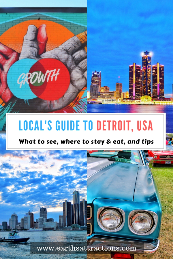 Planning a trip to Detroit, USA? Here's your guide to Detroit with the top things to do in Detroit, places to eat in Detroit, and Detroit accommodation. Save this pin to your board for travel inspiration! #detroit #detroitguide #detroittravelling #detroitattractions #usa