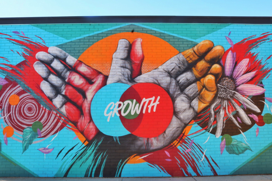 Street art murals found at Eastern Market in Detroit, USA. Read the article and discover the best Detroit activities from a local. #detroit #detroitguide #detroittravelling #detroitattractions #usa