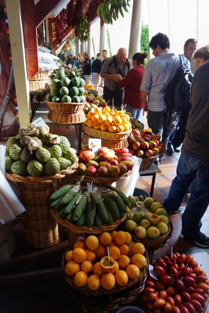 Funchal's Farmers' Market - one of the best things to do in Funchal. Read this local's guide to Funchal and find out all you need to know about Funchal: Funchal food, Funchal attractions, Funchal tips, and more.  #funchal #funchalguide #funchalmadeiraguide #funchalmadeira #funchalportugal #funchaltravelguide #funchaltraveling #funchaltips #funchalfood