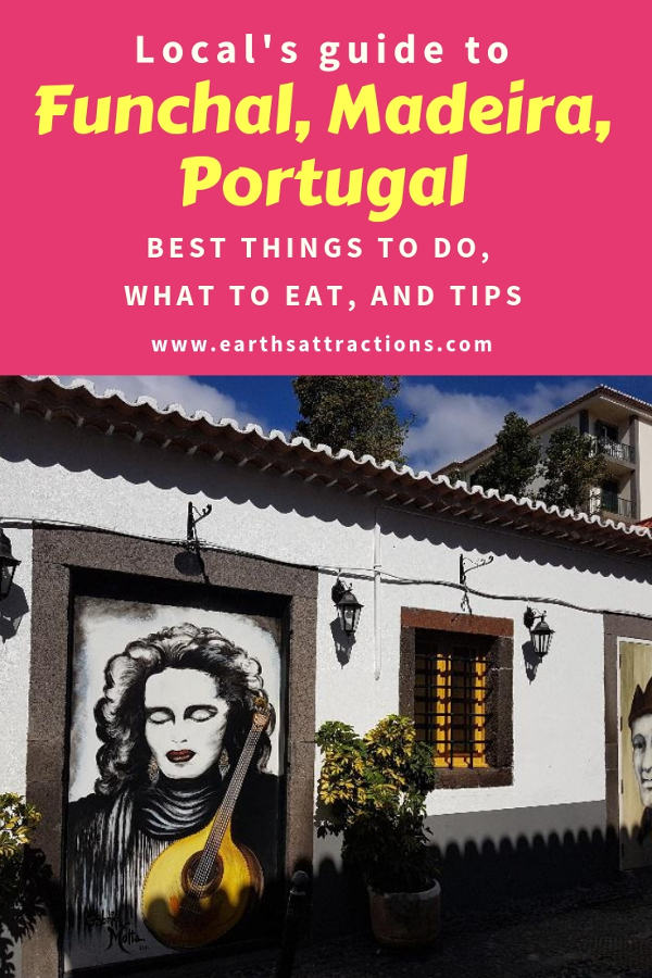Planning a trip to Funchal, Portugal? Here's your local's guide to Funchal Madeira with the top things to do in Funchal, Funchal food, FUnchal tips. Save this pin to your board for travel inspiration! #funchal #funchalguide #funchalmadeiraguide #funchalmadeira #funchalportugal #funchaltravelguide #funchaltraveling #funchaltips #funchalfood