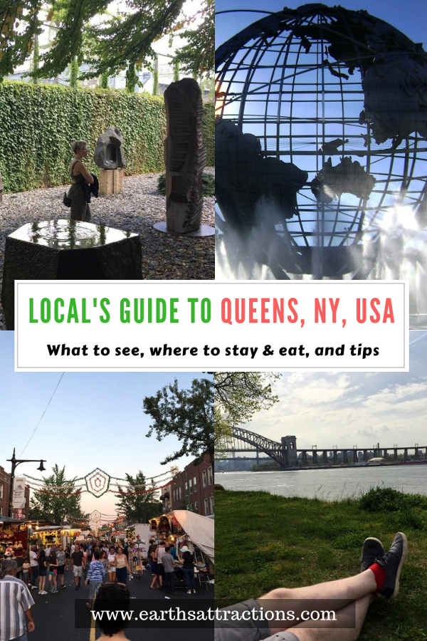 Visiting Queens, NY, USA? Use this local's guide to Queens, NY to create your Queens itinerary. Discover the best Queens points of interest, free things to do in Queens, where to eat in Queens, where to stay in Queens, and tips for Queens. Save this pin to your boards #queens #queensny #queensguide #queenstravelling #queensattractions #usa