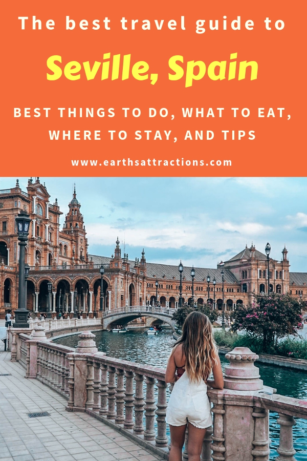Heading to Seville, Spain? Use this Seville city guide and discover the Seville points of interest, where to eat in Seville, places to see in Seville, tips for visiting Seville, where to stay in Seville, and offbeat attractions in Seville. Save this pin to your board for travel inspiration!