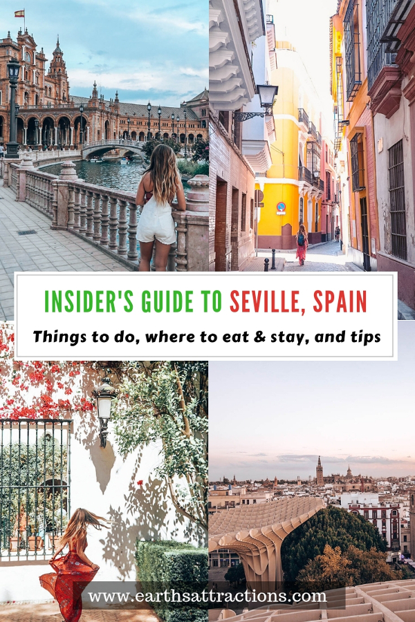 Planning a trip to Seville, Spain? Here's your insider's guide to Seville Spain with the top things to do in Seville, best tapas in Seville, Seville tips, and Seville accommodation. Save this pin to your board for travel inspiration! #seville #spain #europe #guide #travel #sevilleguide