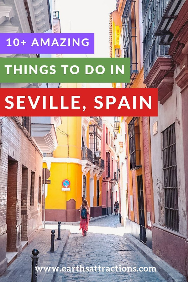 10+ amazing things to do in Seville, Spain! Discover the best Seville activities for your trip! #seville #spain #europe #travel #travelguide