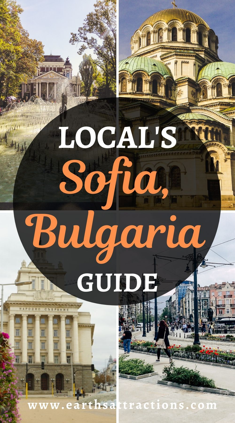 The ultimate local's guide to Sofia, Bulgaria. Discover the best things to do in Sofia, wonderful Sofia restaurants, cool Sofia hotels for all budgets, and special off the beaten path things to do in Sofia. Add some Sofia travel tips and you have everything you need to know about visiting Sofia. Create your Sofia bucketlist and the ultimate Sofia itinerary usinf this insider's guide to Sofia, Bulgaria. #sofia #bulgaria #travelguides #traveltips #europe #travel #earthsattractions
