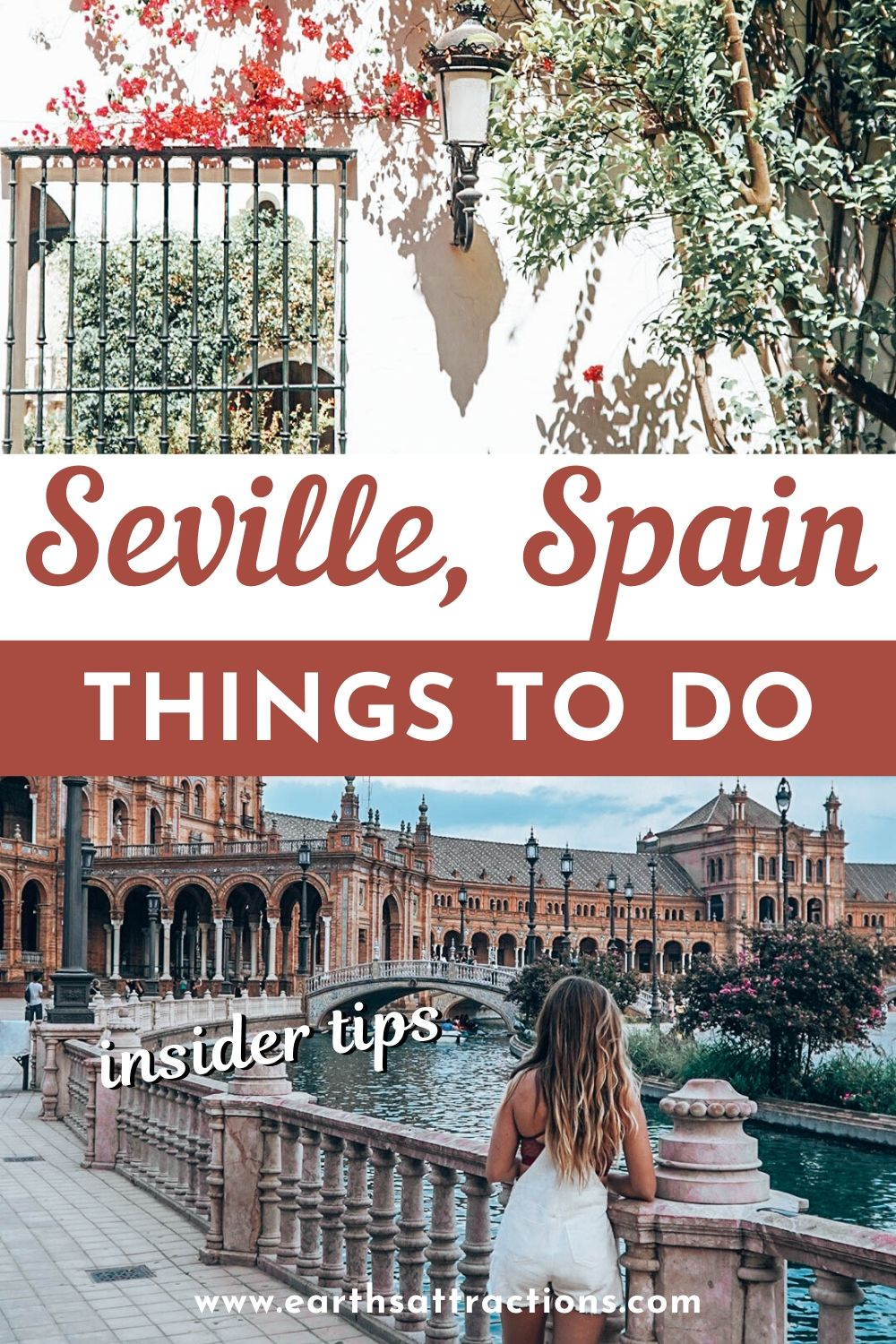 Things to do in Seville, Spain. Discover what to do in Seville on your first trip to Seville. The best places to visit in Seville are included, as well as cool restaurants in Seville and awesome hotels in Seville. Read this Seville blog now! #seville #spain #sevilleguide #travelguide #traveldestinations #europe #earthsattractions #sefillethingstodo