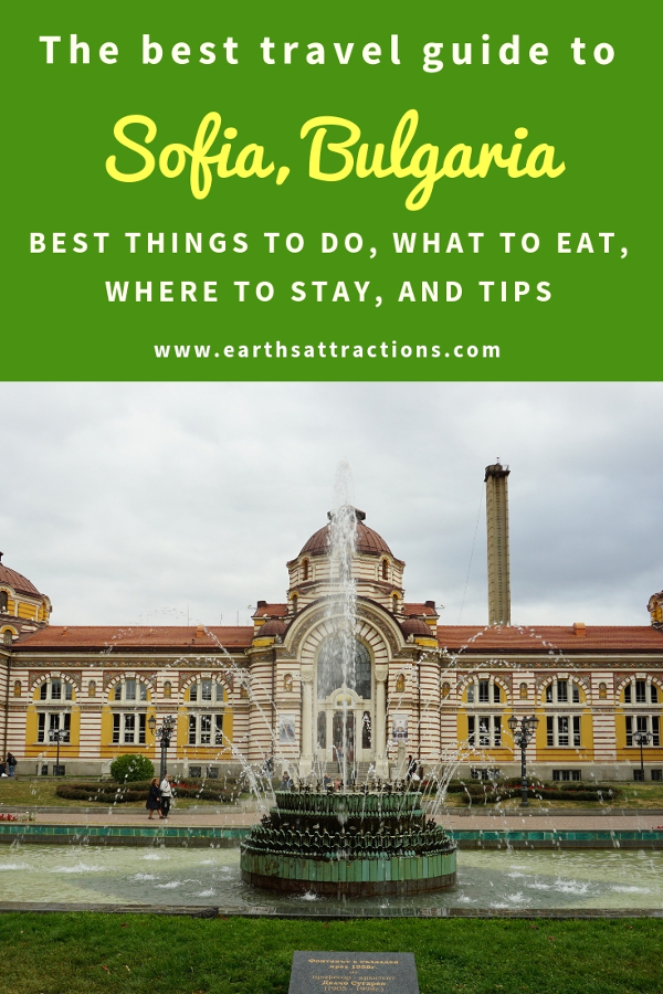 Going to Sofia Bulgaria? Use this insider's guide to Sofia and discover all the Sofia points of interest, where to eat in Sofia, where to stay in Sofia, and Sofia travel tips. Save this pin to your boards #sofia #sofiaguide #sofiatravelguide #sofiabulgaria #bulgaria