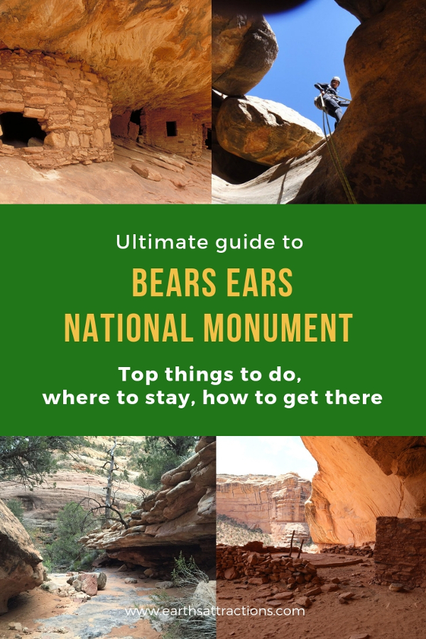 The ultimate guide to visiting the Bears Ears National Monument in Utah, USA. All the things to do, how to get there, and tips are included! #bearsears #bearsearsmonument #bearsearsutah #utahmonuments #nationalmonument #utah #usa