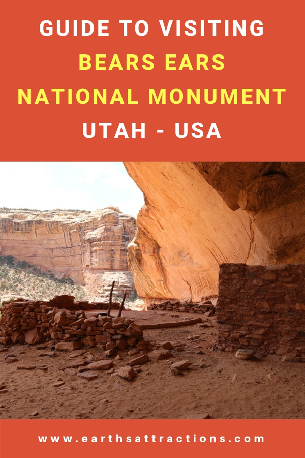 Wondering what to do at the Bears Ears National Monument? Here's your guide to Bears Ears area - useful tips for visiting Bears Ears National Monument, top attractions, and fun things to do! #bearsears #bearsearsmonument #bearsearsutah #utahmonuments #nationalmonument #utah #usa
