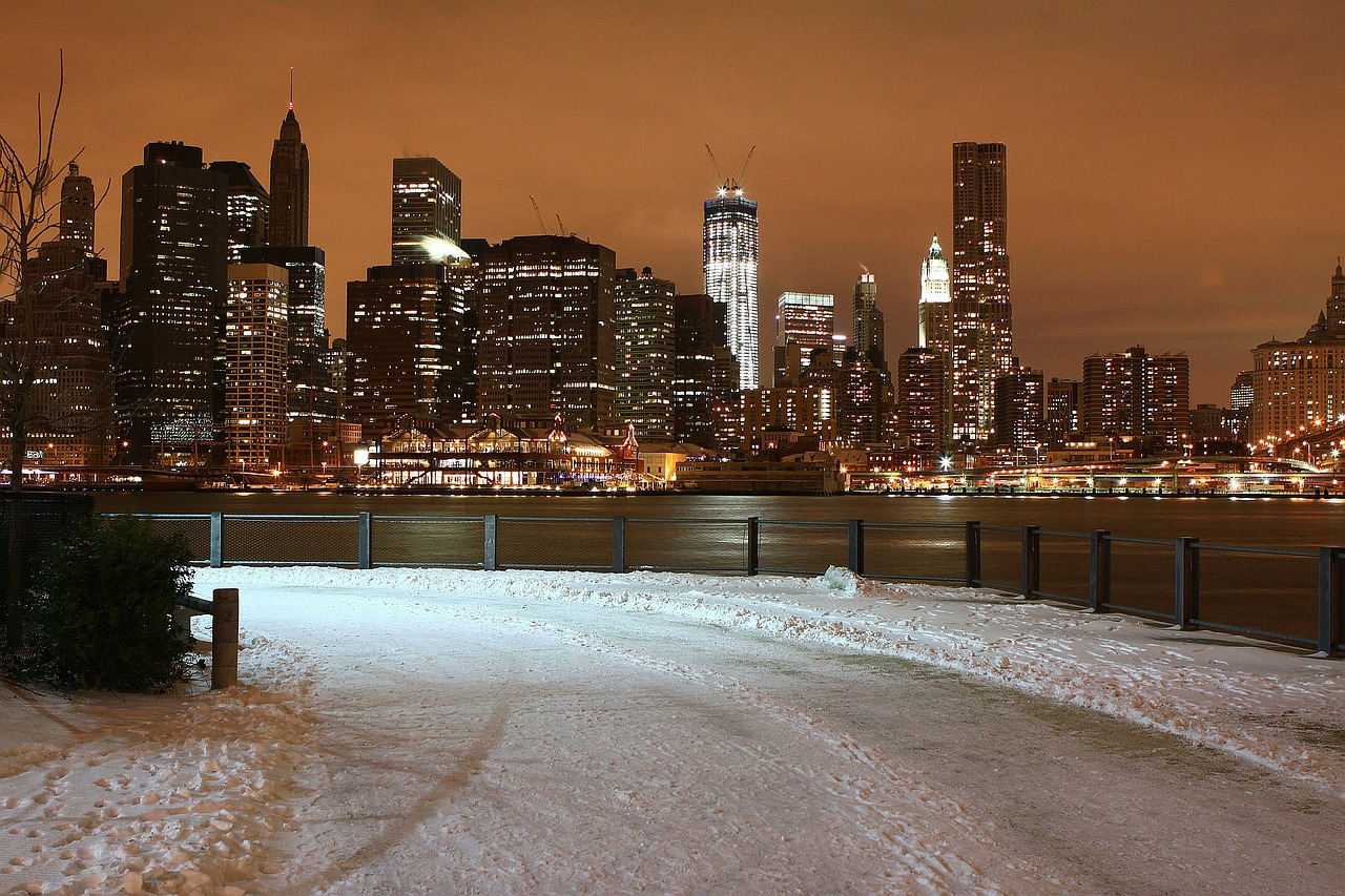 New York City in winter - from the 10 best winter vacations in the United States, New York City is undoubtely the best Christmas destination. #usa #usawinter #winterusa