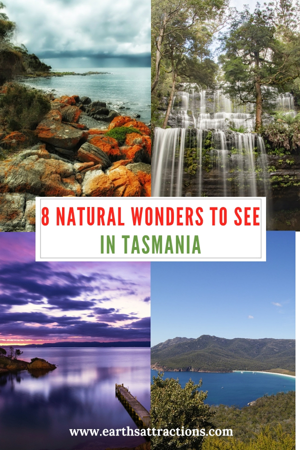 8 natural wonders to see in Tasmania, Australia. Save this pin to your boards #tasmania #tasmaniawonders #tasmaniaattractions