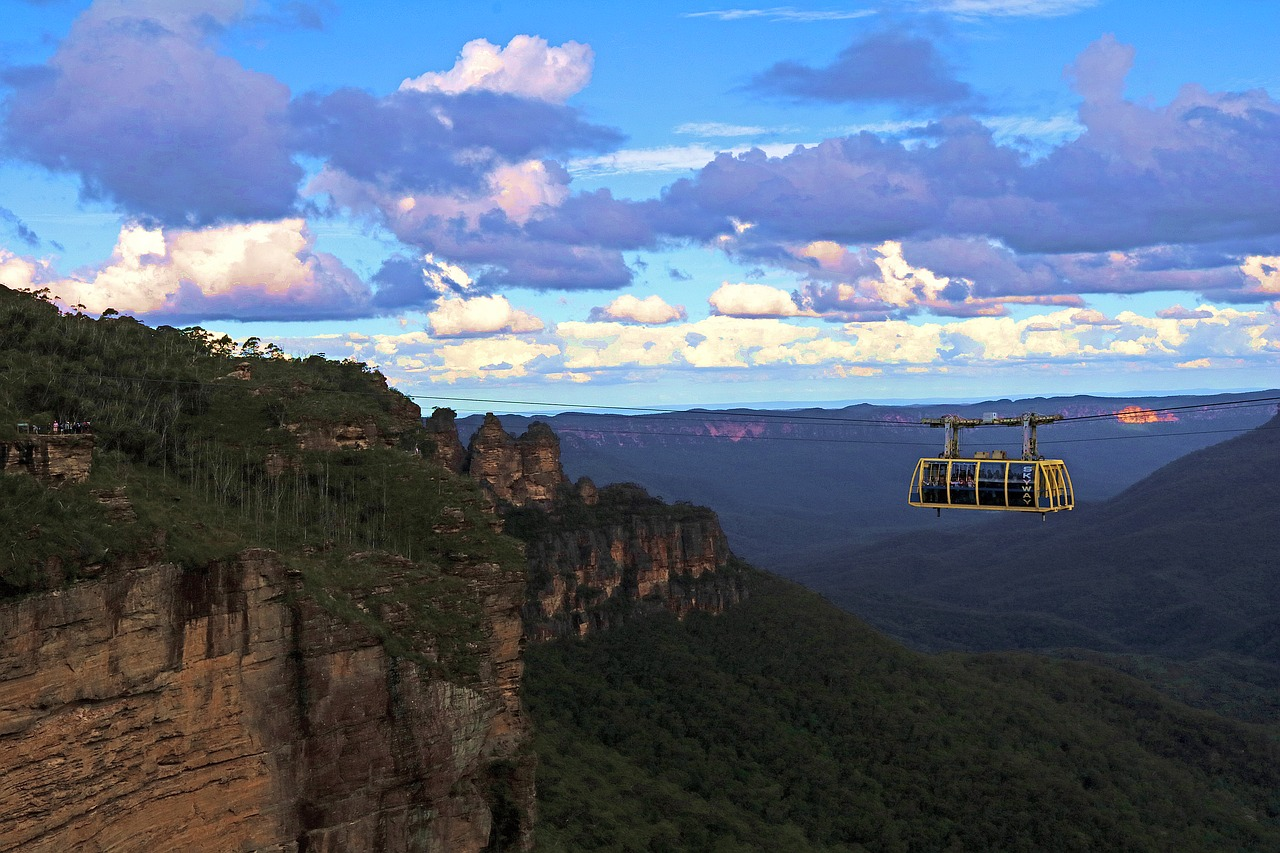 Sky Way & Three Sisters, Blue Mountains, Sydney, Australia - one of the great experiences in Sydney. Read this Sydney guide by a local and discover the top things to see and do in Sydney Australia, tips, hotels, and food in Sydney. #sydney #sydneytrip #sydneyattractions #sydneyaustralia #australiatravel #sydneytravel