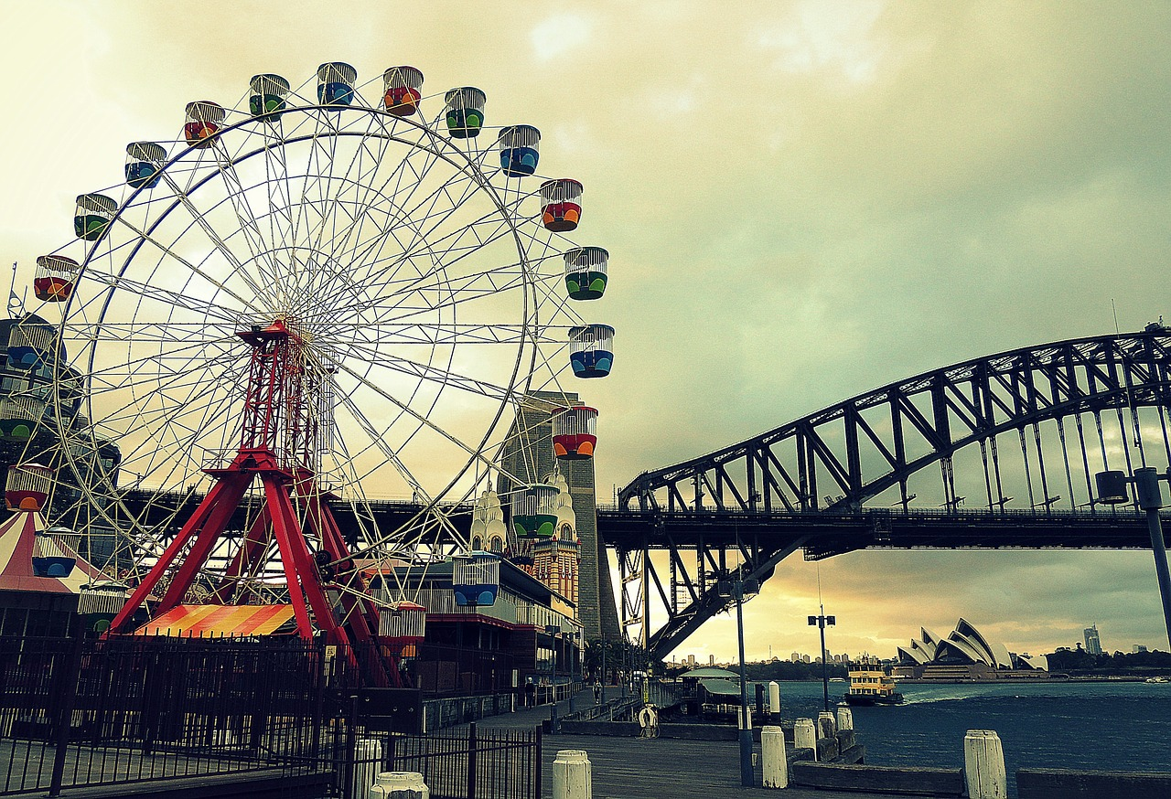 Luna Park, Sydney is one of the popular tourist attractions in Sydney. Discover where to go Sydney sightseeing, accommodation in Sydney and tips for Sydney from this local's guide to Sydney Australia. #sydney #sydneytrip #sydneyattractions #sydneyaustralia #australiatravel #sydneytravel