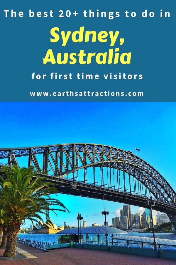 Heading to Sydney, Australia for the first time? Here's your complete travel guide to Sydney for first timers. Includes the Sydney tourist attractions, off the beaten path things to do in Sydney, where to eat in Sydney, where to stay in Sydney, and useful Sydney travel tips from a local. Save this pin to your boards #sydney #sydneytrip #sydneyattractions #sydneyaustralia #australiatravel #sydneytravel #sydneyguide