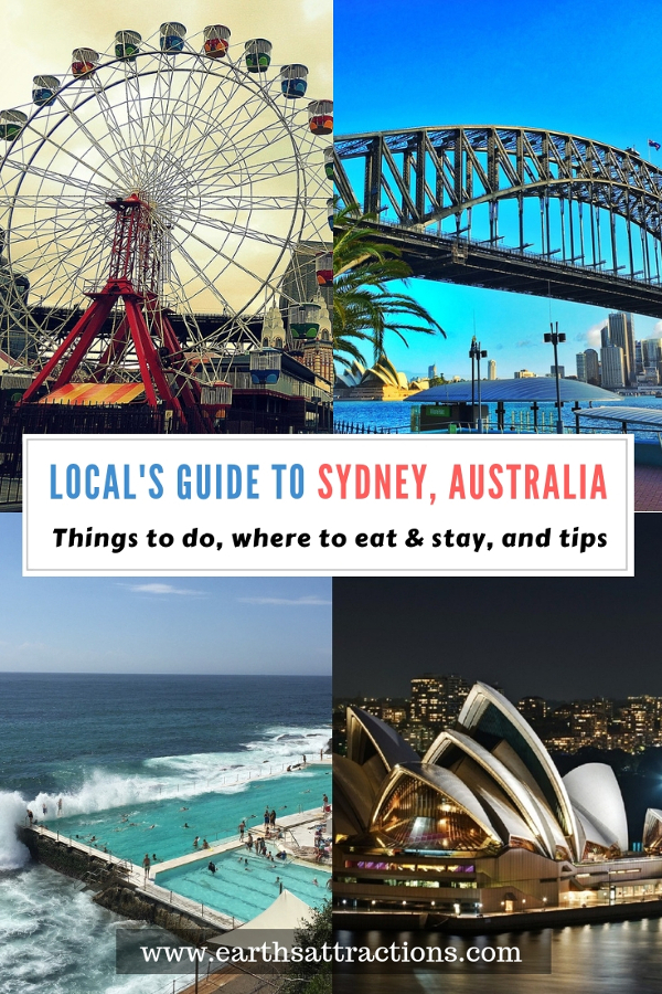 Going to Sydney, Australia? Use this local's guide to Sydney and discover all the Sydney points of interest, places to eat in Sydney, useful tips for visiting Sydney, and Sydney accommodation options. Save this pin to your boards #sydney #sydneytrip #sydneyattractions #sydneyaustralia #australiatravel #sydneytravel #sydneyguide