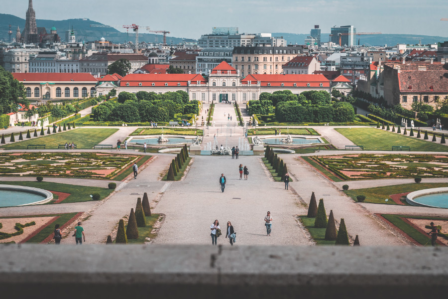 Vienna - Belvedere Palace was on my Vienna travel itinerary. Here is a ste-by-step process to help you create a travel itinerary for your vacation. Use the travel itinerary template software free for all your travels! #travel #travelplanning #travelitinerary #itinerary #traveltips
