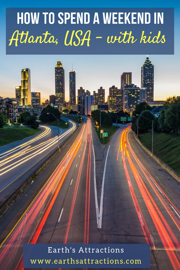 Atlanta city guide: Tips for spending a weekend in Atlanta with children - discover what to do on a weekend in Atlanta, USA with kids #atlanta #usa #atlantakids
