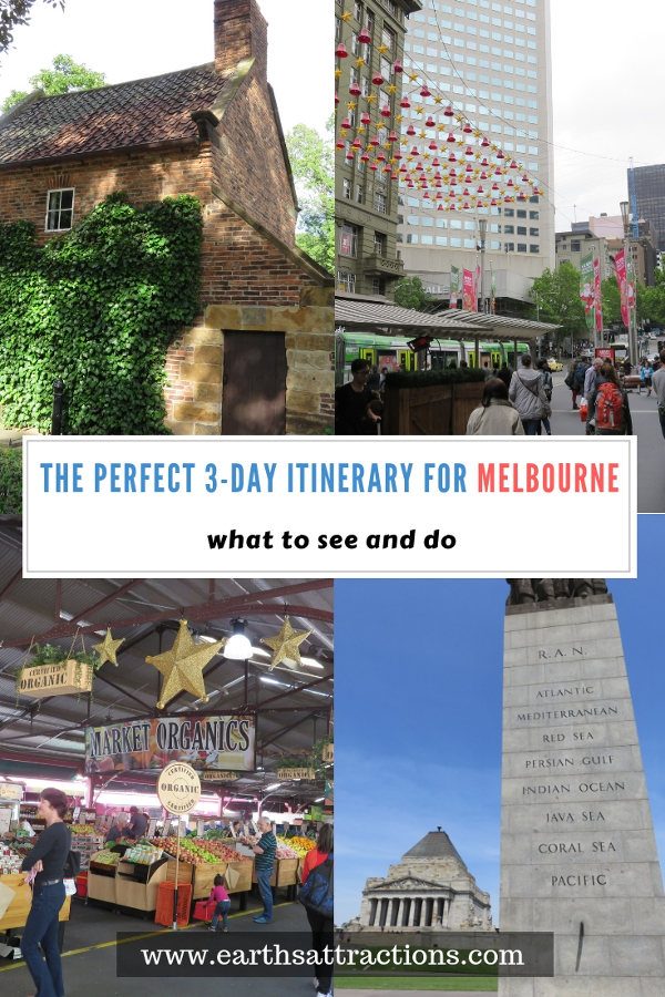Planning to visit Melboune, Australia? Use this perfect Melbourne 3-day itinerary with the best things to do in Melbourne in three days. Discover what to see in Melbourne, Australia in 3 days to plan your trip. Save this pin to your boards for inspiration. #melbourne #travel #melbourneattactions #tourism #australia #discovermelbourne #visitmelbourne #melbourneitinerary