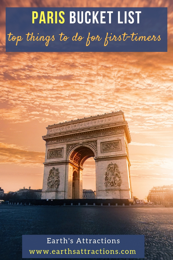 Planning to visit Paris soon and don't know which are the best experiences in Paris? Here is the Paris bucket list for your first trip to Paris that includes the best things to do in Paris for first-timers. Save this pin to your boards for inspiration #paris #parisbucketlist #parislist #parisfrance #france #visitparis