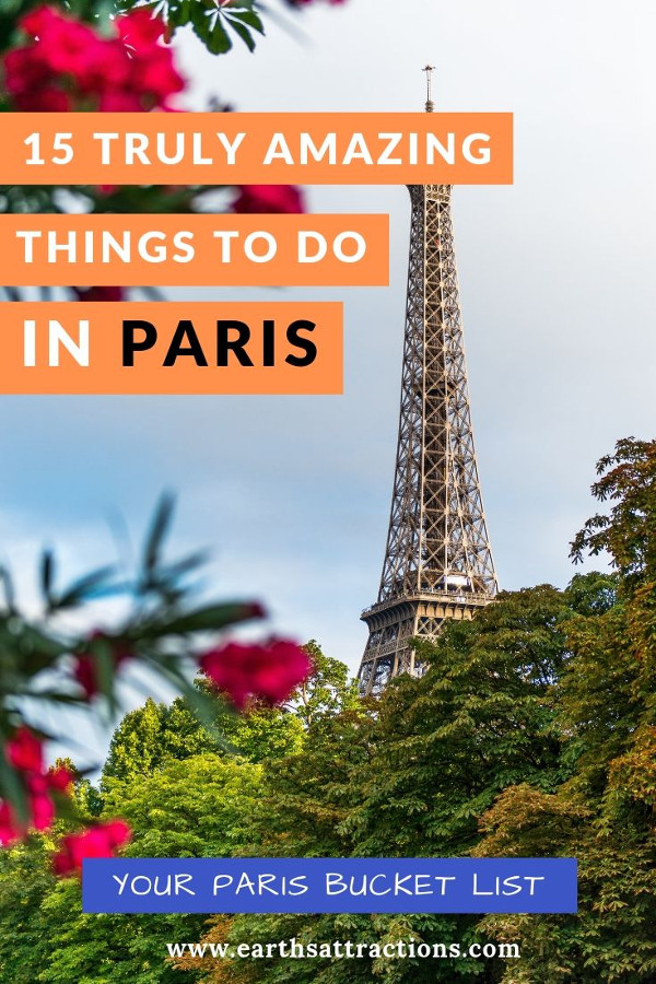 15 absolutely amazing things to do in Paris: Your Paris travel bucket list! #paris #france #parisbucketlist #europe