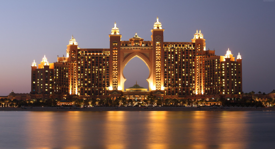 Atlantis Waterpark - one of the top 11 best things to do in Dubai, United Arab Emirates