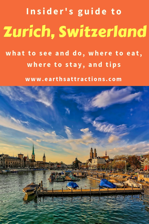 Planning to visit Zurich, Switzerland? Use this insider's guide to Zurich and discover the best places to visit in Zurich, Zurich food, Zurich accommodation, and Zurich tips. All the Zurich tourist attractions and day trips from Zurith are included. #zurich #zurichtips #zurichswitzerland #switzerland #travel #europe