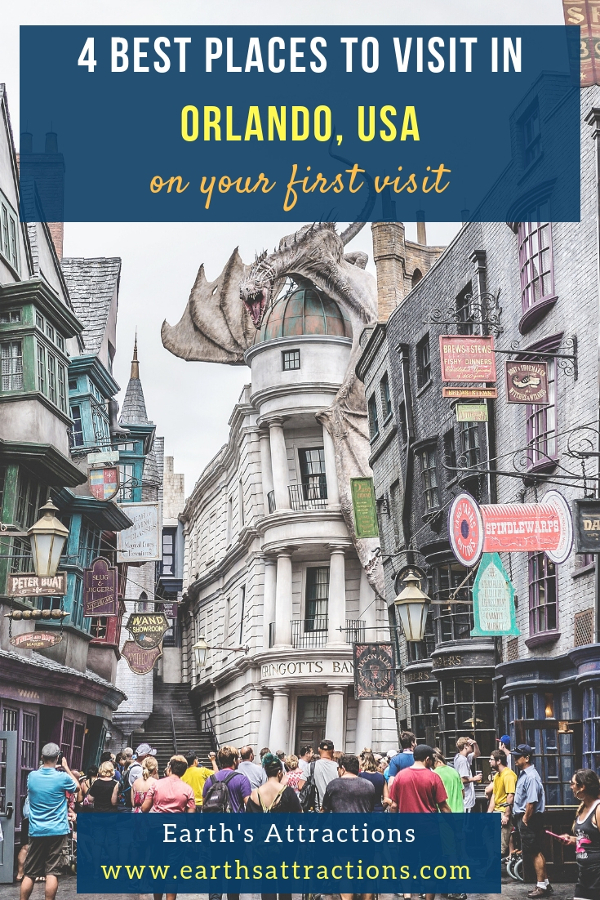 4 best places to visit in Orlando for first-time visitors - Discover the top attractions in Orlando, USA #orlando #usa #travel
