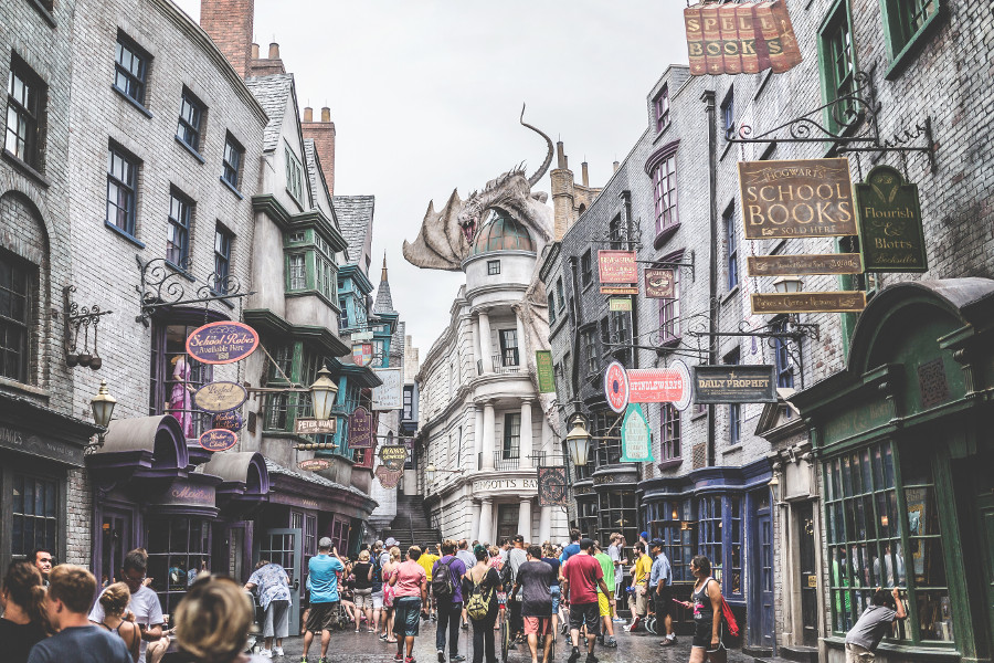 Universal Studios Orlando, USA - read this article to discover 4 best places to visit in Orlando for first-time visitors