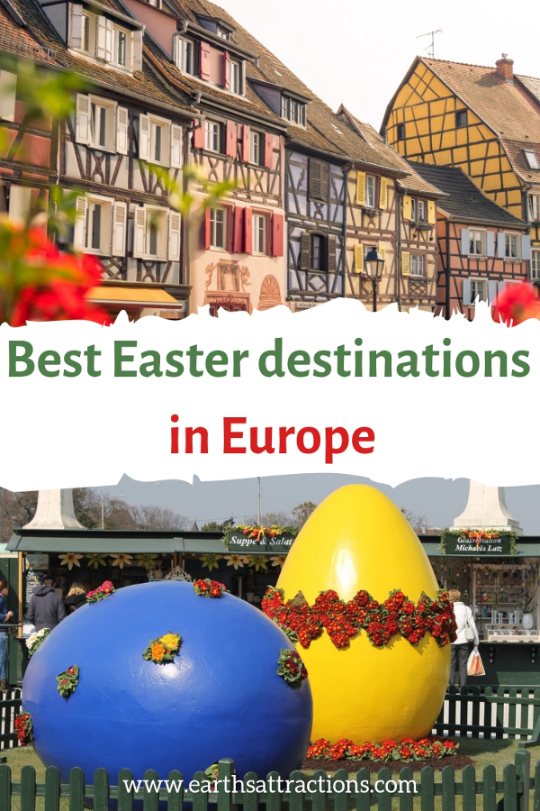 Easter holidays: the best Easter travel destinations in Europe. Discover where to celebrate Easter in Europe. #travel #europe #easter