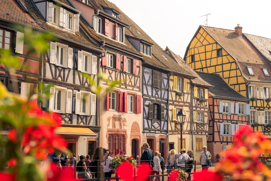 Easter in Colmar - Discover the best Easter destinations in Europe #travel #europe #easter