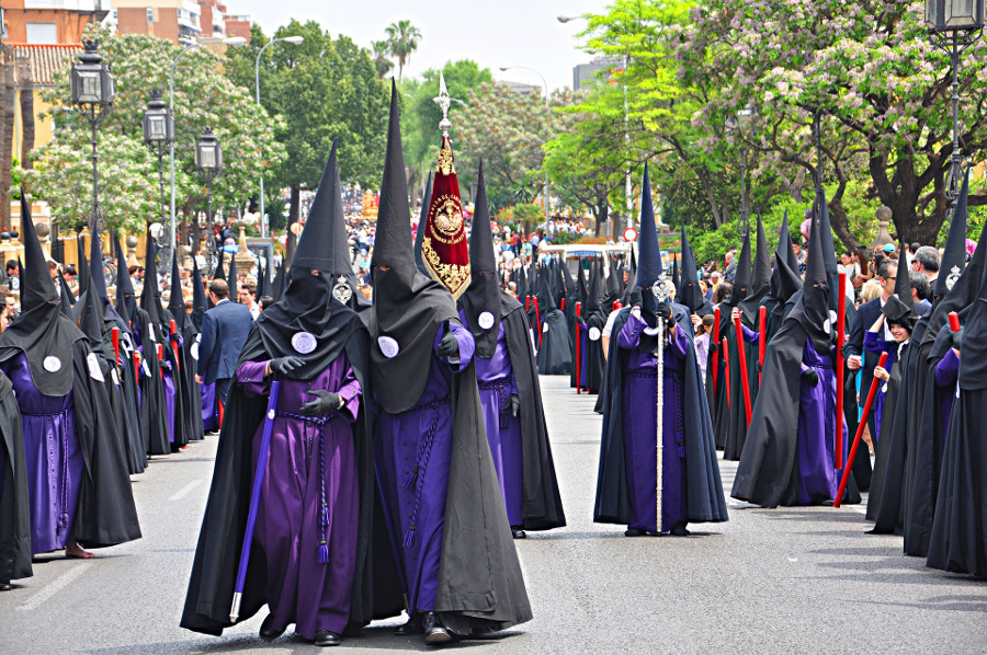 Easter in Spain – Seville, Semana Santa. Here are the best Easter celebrations in Europe #travel #europe #easter