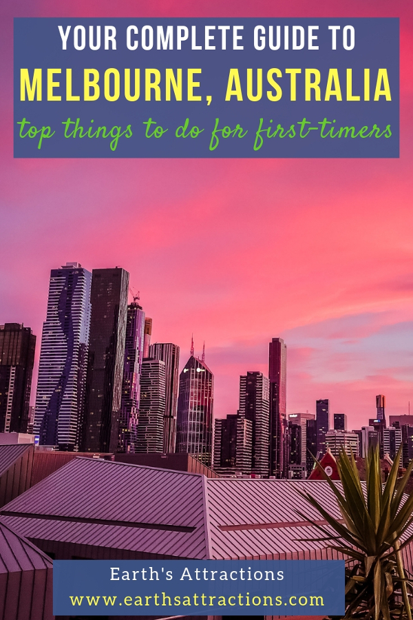 The complete travel guide to Melbourne, Australia for first-time visitors. Use the recommendations to create your Melbourne bucket list. Famous and off the beaten attractions in Melbourne are included. #melbourne #australia #australiatravel #melbournetips